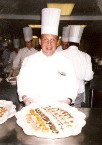 Reid Weinbrom as chef